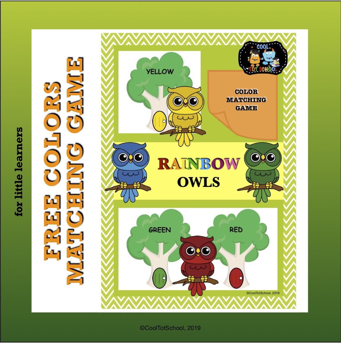 rainbow-owls-match-up