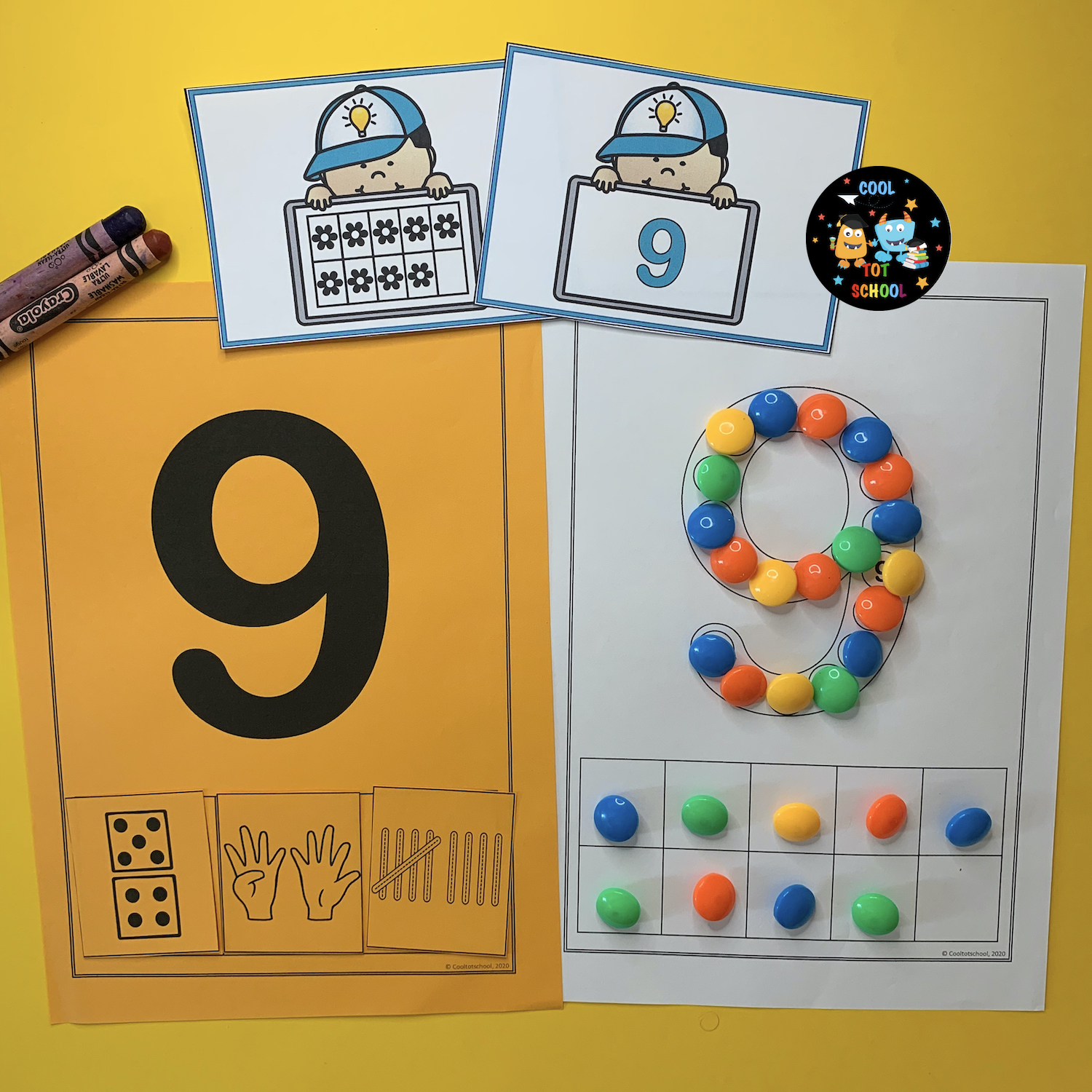 number-9-learning-fun-free-templates