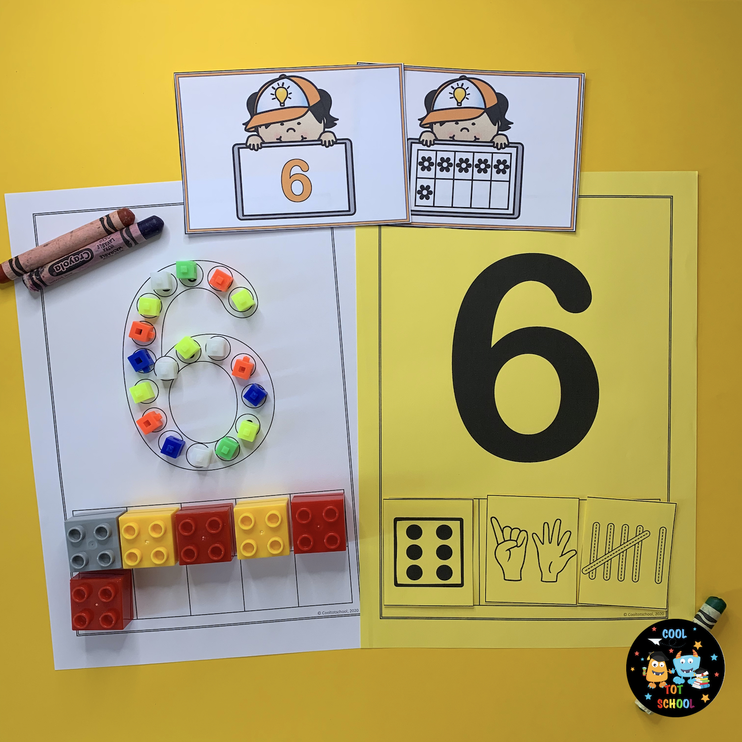 learning-number-6-with-counting-blocks