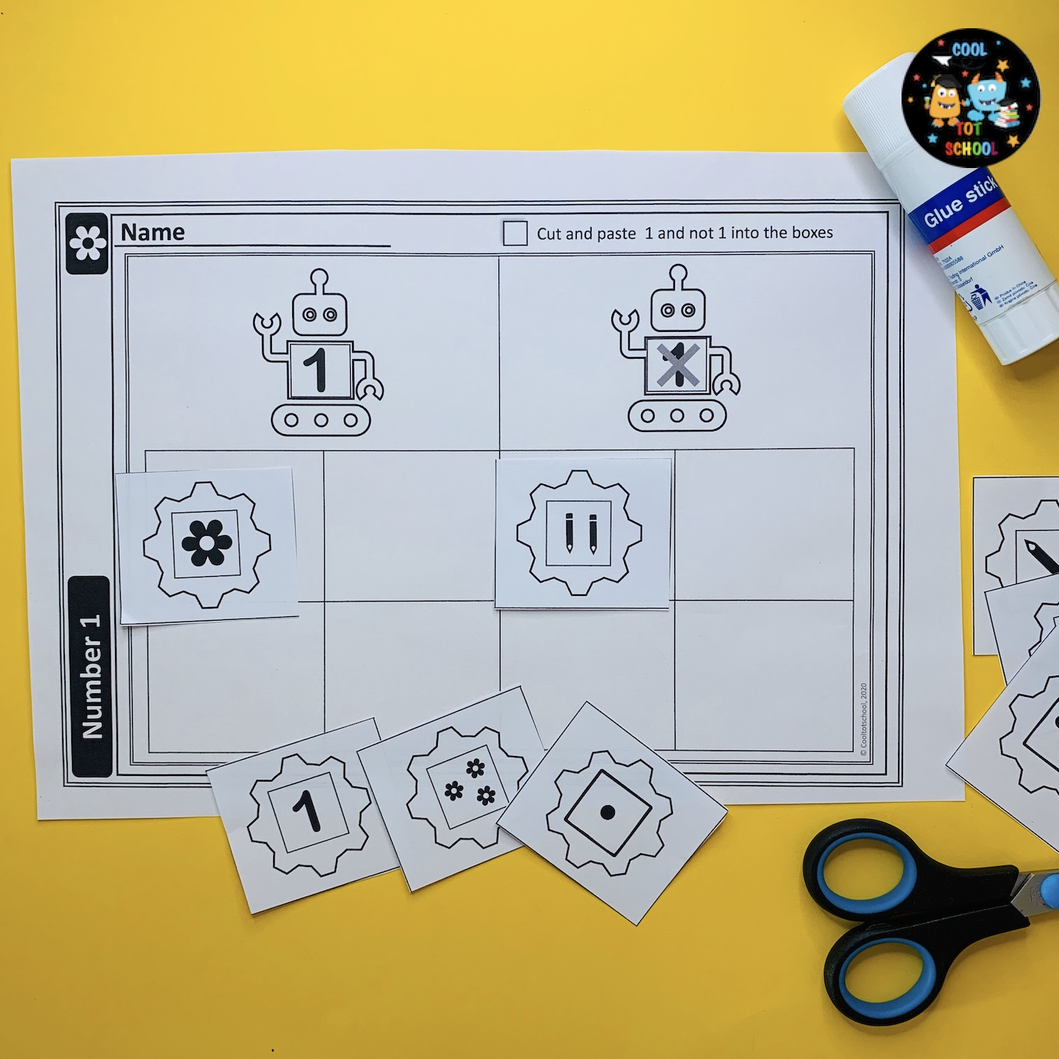 preschool-math-worksheets-to-cut-and-paste-number-1-and-many
