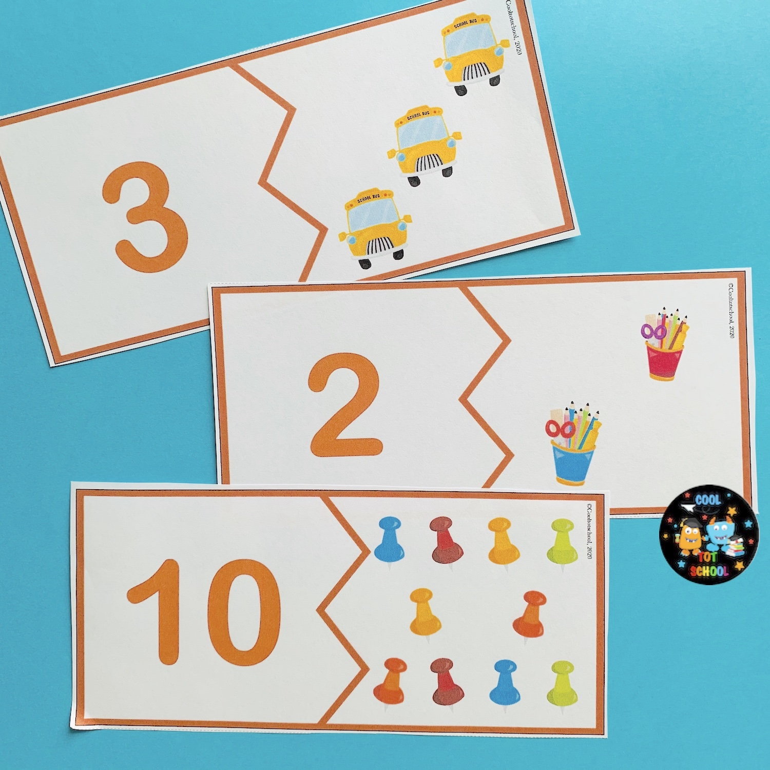 school-supplies-counting-puzzles