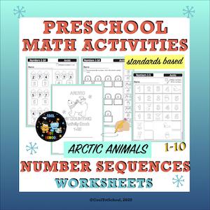 preschool-math-worksheets-arctic-theme-to-practice-number-order