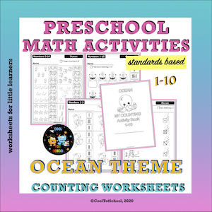 counting-worksheets-pages-ocean-theme-for-little-kids