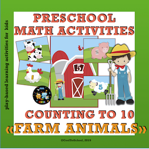 Farm-animals-counting-preschool-math-cards-with-numbers-to-10