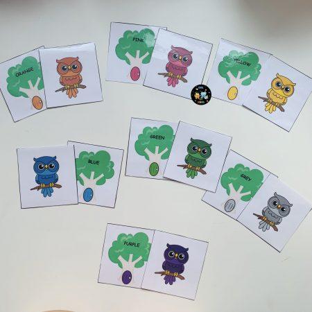 owls-choose-colors-tree-games